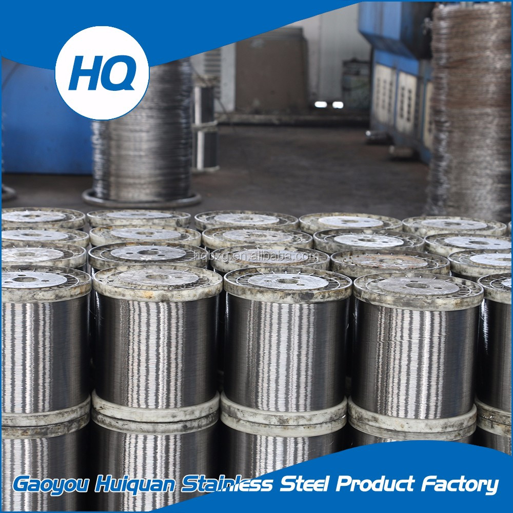 China factory directly supplying stainless steel wire 0.13mm for scourer