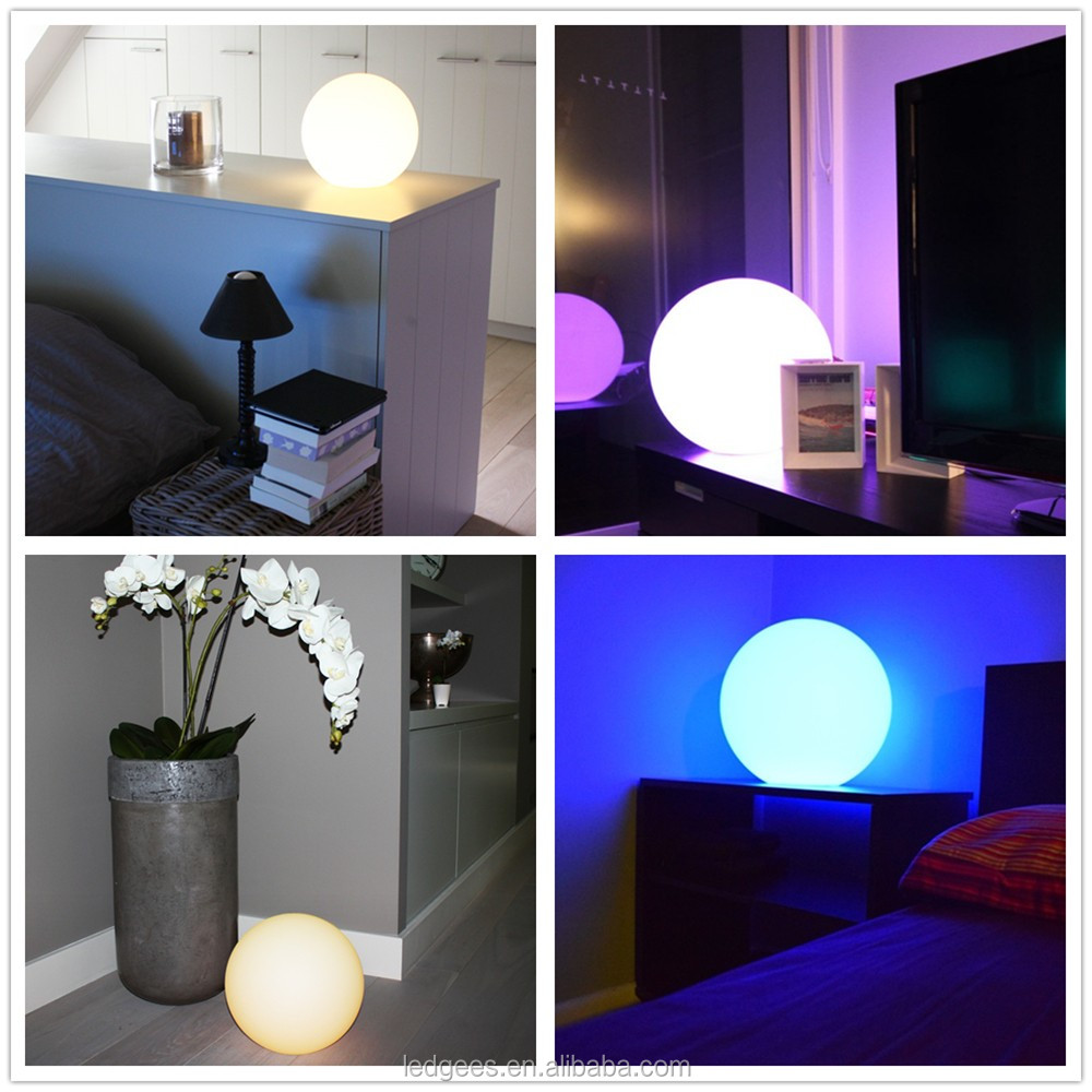16RGB Color changing electronic gifts with Remote Mood Lamp Kids Night Light 16 Dimmable Colors & 4 Modes Rechargeable Battery
