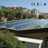 Flat panel solar water heater collector PDM sealing