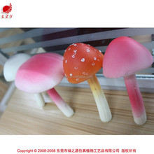 2015 new products home decor products artificial mushroom wedding decoration mushroom