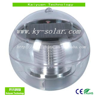 Solar Power Energy Garden Water Floating LED Light Lamp Colorful Pond Ball Globe Light