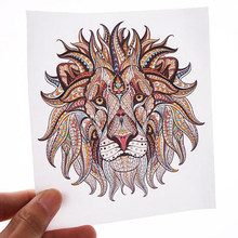 Car Sticker Custom Car Window Glass Decal Auto Creative Tiger Lion Eagle Styling Emblem