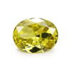 Best cz stones many size 2x3mm ~ 15x20mm oval cut shaped aaaaa olive yellow cubic zirconia stone cz gems for rings