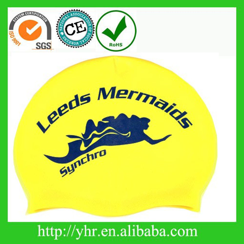 Promotional gifts ear protection adult funny swim cap for adults & kids