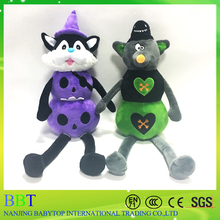 wholesale good quality Christmas Halloween gifts pumpkin stuffed toy for home decoration