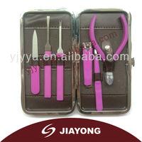 Fashionable style promotionan nail manicure set manufacturer