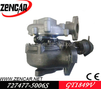 k18 materail GT1849V turbocharger Nissan Primera with YD22ED Engine 727477-5006S