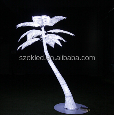 Promotional Price! 2.2m high 3048*3 LEDs Waterproof LED palm tree light