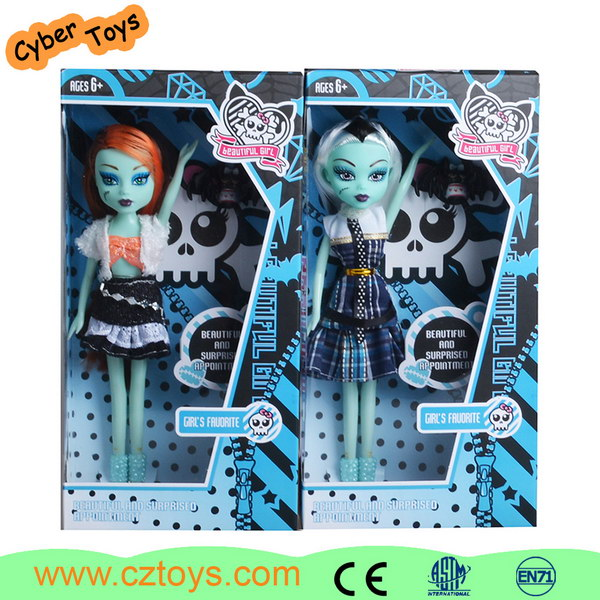 Wholesale new design fashion doll lovely girl doll with beautiful