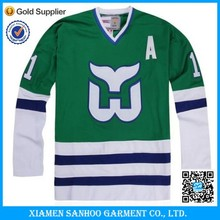 Team Wear Jersey Custom sublimation ice hockey jersey Made In China
