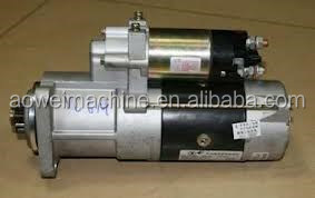 Hitachi excavator starter motor for ZAXIS ZX210LCN-3,ZX240,ZX200LC,ZX240LC, EX220-5,E02GES094, H8980703211
