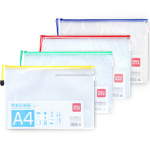 China factory document packing slider zipper bag