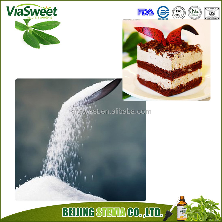 Free Sample low calorie pure natural stevioside 95% sweeteners sugar podwer stevia for chewing gum
