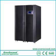 EverExceed 3:3 phase modular online UPS with the advanced IGBT technology and DSP control
