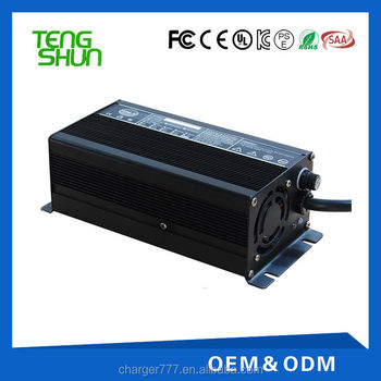 24v 10a 36v 8a 48v 5a lithium polymer ion battery charger