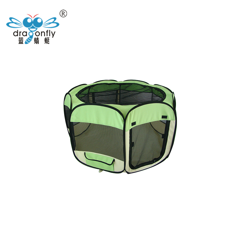 BSCI Factory Audited Folding Fabric Pet Dog Playpen carriers cages