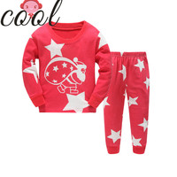 top design high quality kid and baby girl pajamas wholesale winter long sleeve pajamas