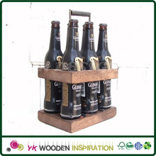 Wooden beer 6 pack carrier for Food Packing