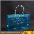 Durable glossy PVC shopping bag PVC Tote Bag PVC Carrier Bag