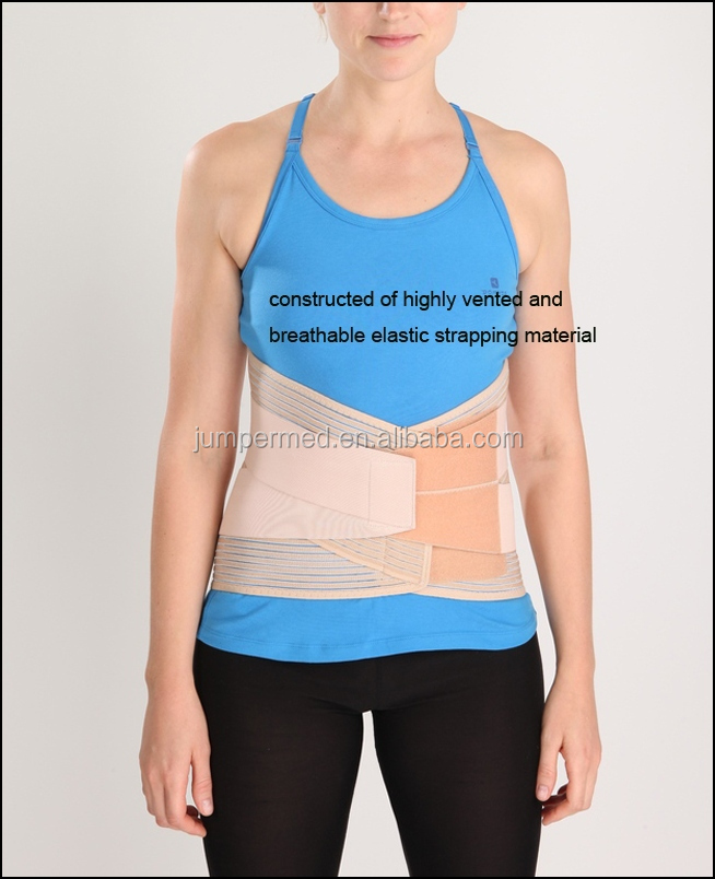 therapy elastic strapping waist belt/Lumbar Back Brace/abdominizer belt