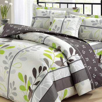 Plain weave bedding comforter bed sheet set cotton woven fabric