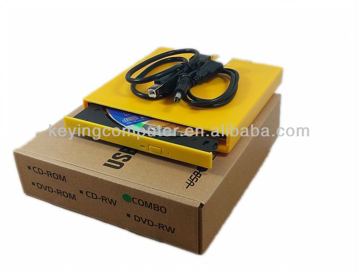 USB2.0 External Protable DVDRW CDRW Burner Drive XP 7