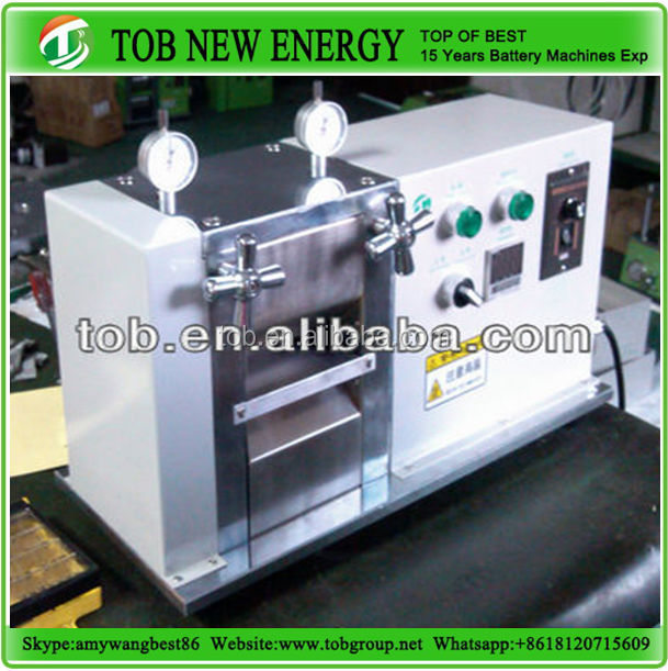 Battery Lab Research Equipment Rolling Machine With Hot Function