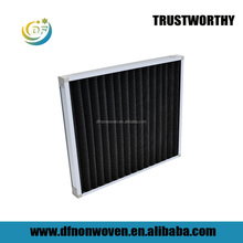 Factory direct sale carbon filter for air conditioner filter mesh carbon air filter manufacturer from china