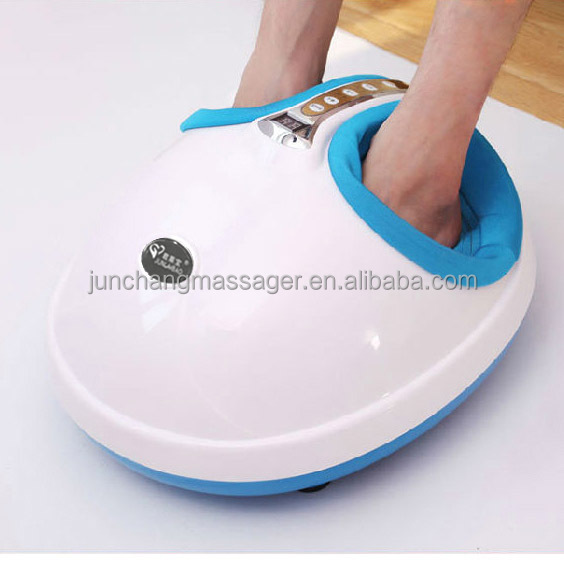 Cheap Electric Vibrating Mini Foot Massager with Shiatsu and Kneading