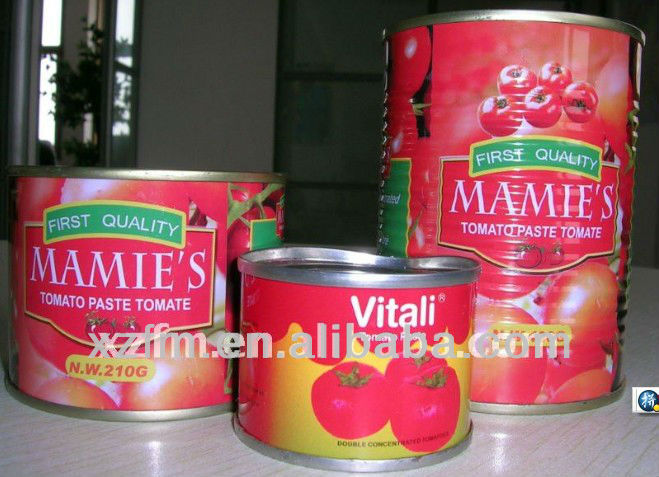 2200g Canned Tomato Paste brix28-30