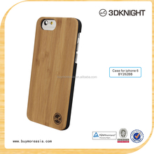 2015 best price mixing wood bumper cover for iPhone 6 wood case