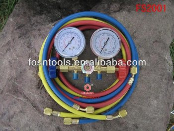 FS2001 Refrigeration Equipment of R12 Manifold Gauge Set