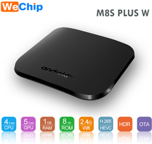 Fine free car racing games amlogic s905w tv box M8S PLUS W with 4k 3d kd player android 7.1 smart media player