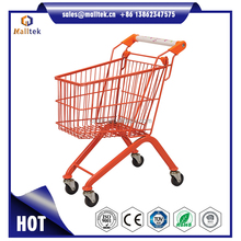 180 Litre Moving UnFoldable Zinc Plated Gift Shopping Cart