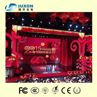 New P3.9mm Carbon Fibre innovadores carbon fiber pitch 4mm led video wall spring festival gala case
