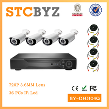 Cheap 4ch 720p Outdoor 1MP ahd dvr camera kits
