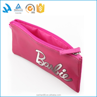 Good quality waterproof pvc zippered pencil pouches, PVC pencil bag for kids