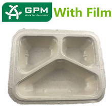 Latest Design Biodegradable Disposable Sugarcane Bagasse Food Container