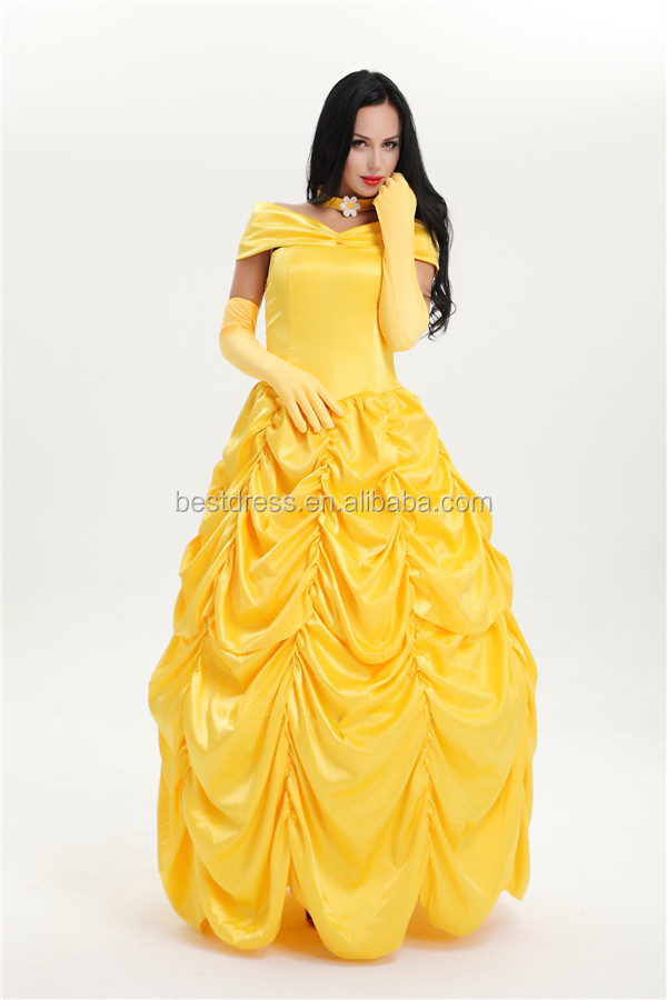 walson instyles copyright Classic Beauty Princess Belle Adult Storybook Fairytale Fancy Dress Costume