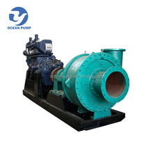 Diesel engine water sand pumping machine for river
