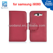 Wallet Leather Case for Samsung Galaxy Grand Duos i9080 i9082 Mix color