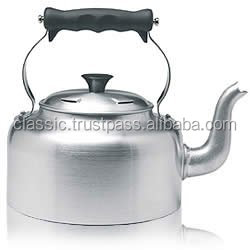 High Quality Aluminium Mini Non-electric Tea Kettles With Handle
