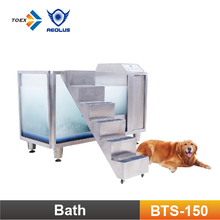 BTS-150 Stainless Steel made Micro Bubble SPA Bathtub for Dog