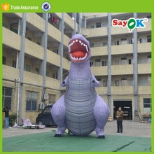 giant inflatable dinosaur costume advertising rubber inflatable animal sale