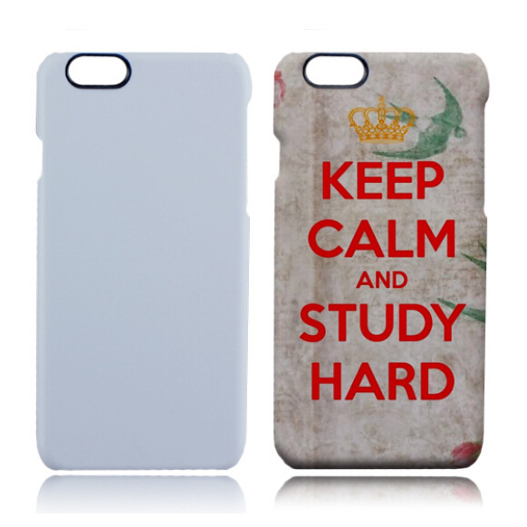 Blank Hard Smart Phone Case for Low Temperature 3D Vacuum Sublimation Heat Transfer Printing Machine