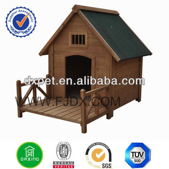 dog house with porch DHDH008
