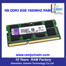 2014 Best selling retail items 8gb pc ddr3 sdram memory for laptop