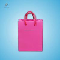 Luxury shopping paper bags printing