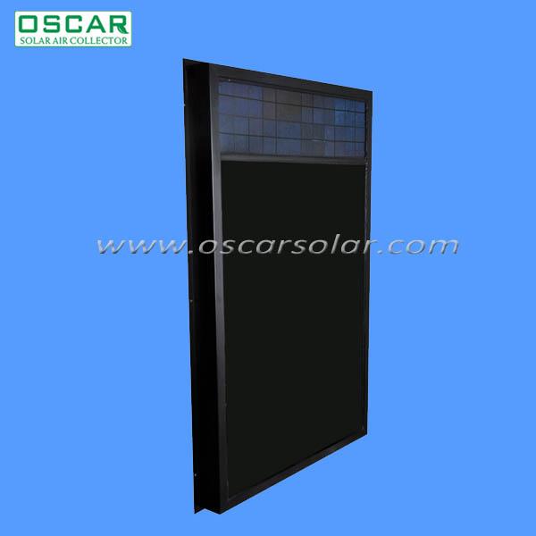 Ventilatore Con Pannello Solare : Solare aria ventilatore pannello celle solari