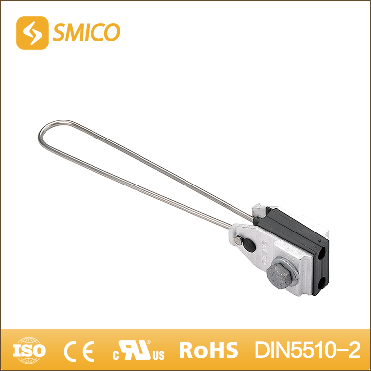 SMICO Latest Innovative Products 2 Core ABC Cable Anchor Suspension Clamp